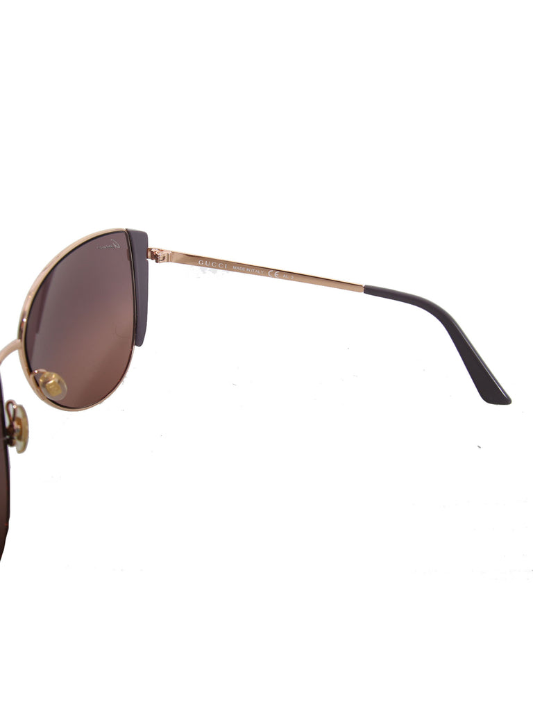 Gucci Medium Cat-Eye Frame Sunglasses