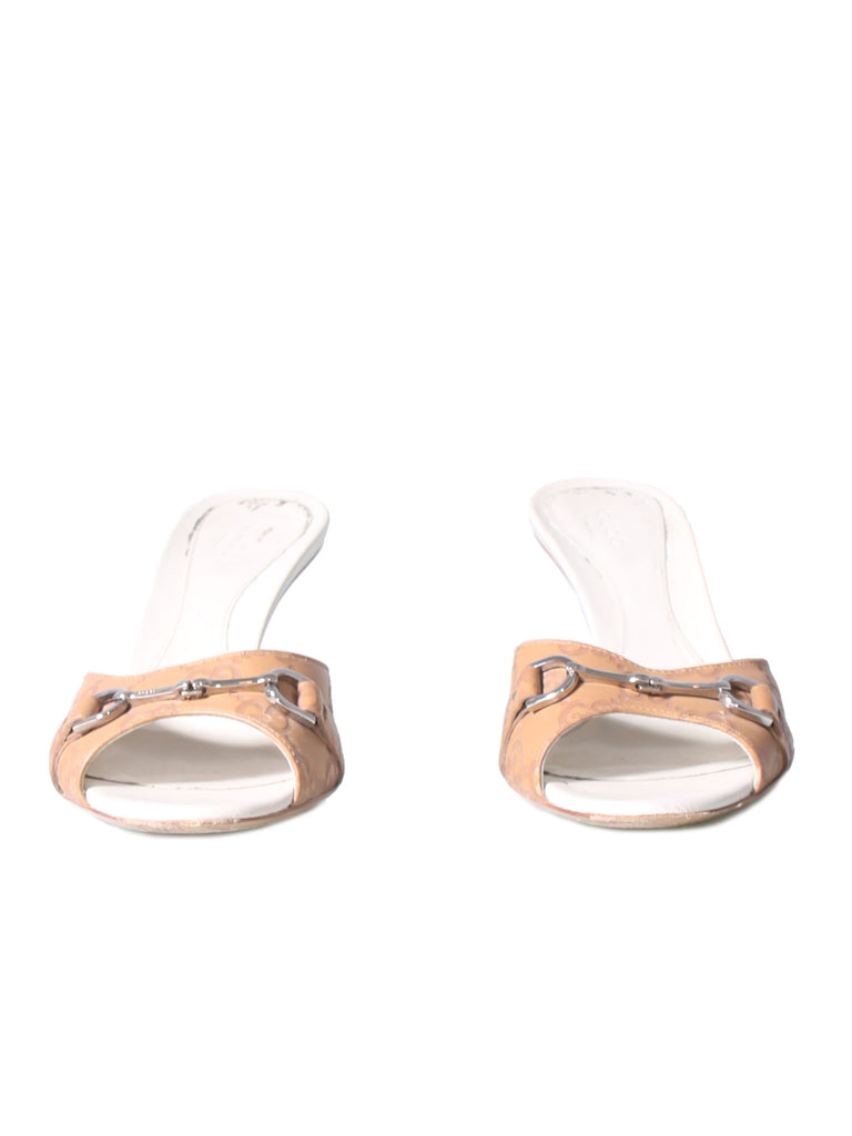 Gucci Guccissima Slide Sandals
