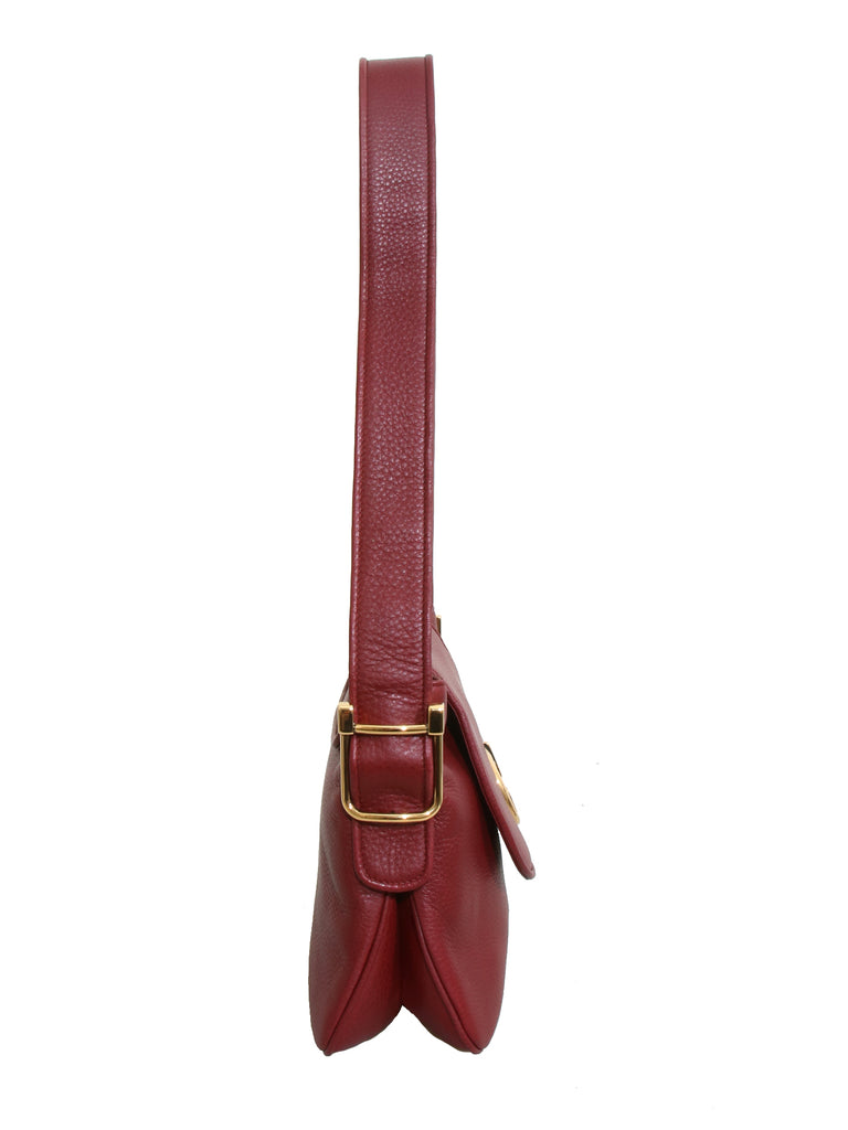 Gucci Leather 1973 Shoulder Bag