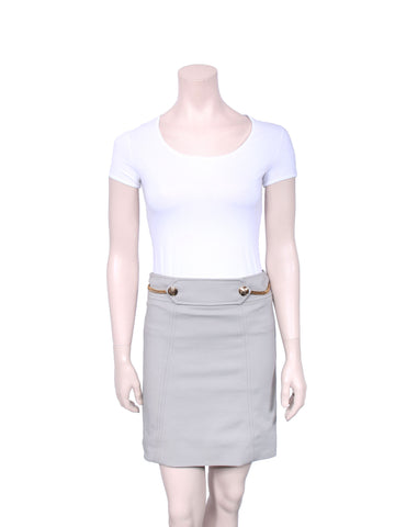 Gucci Chain Pencil Skirt
