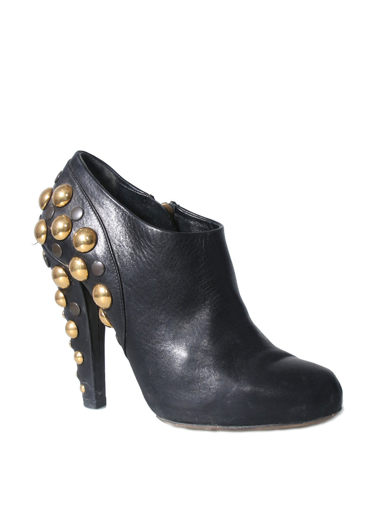 Gucci Babouska Studded Booties
