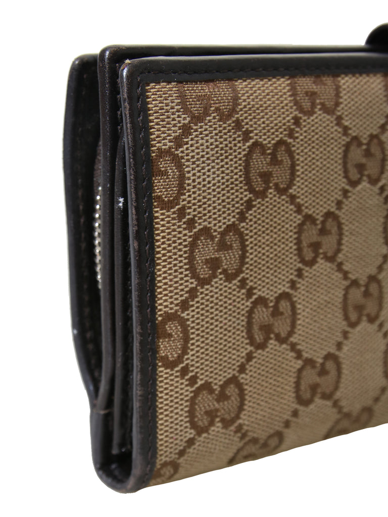 Gucci Monogram GG Canvas Wallet