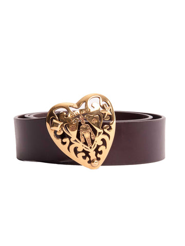 Gucci Heart Logo Belt