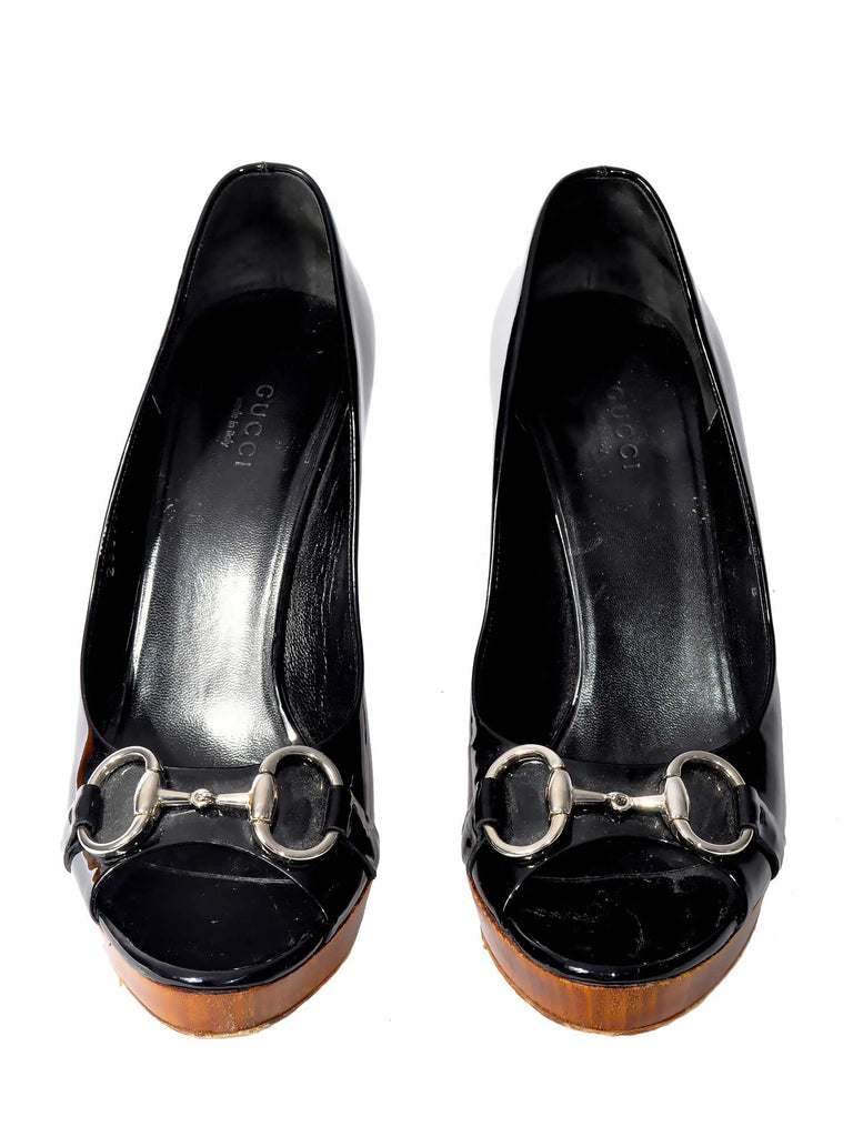 Gucci New Hollywood Platform Pumps