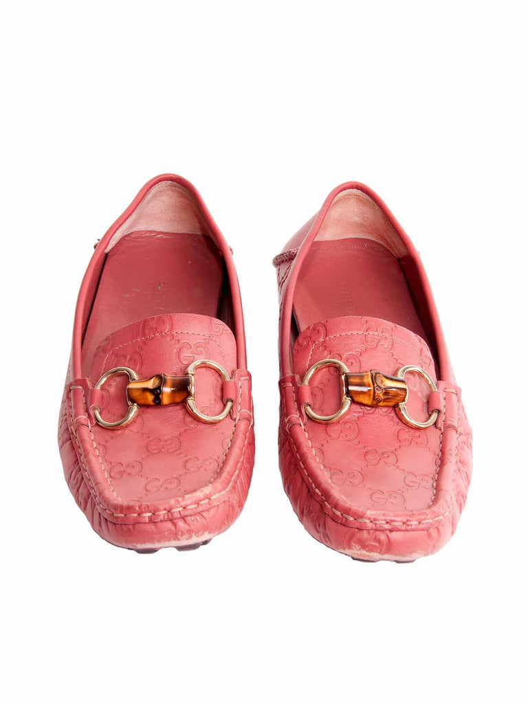 Gucci Logo-Embossed Loafers