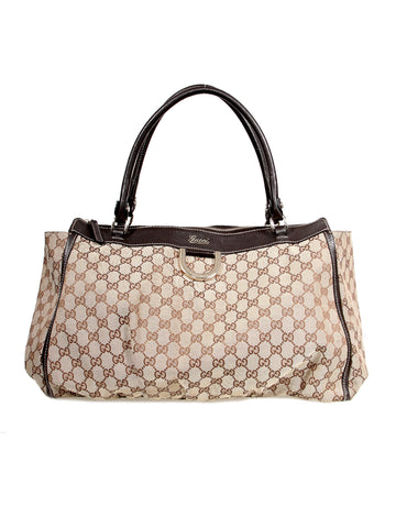 Gucci Monogram Abbey D-Ring Tote