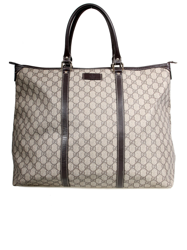 02a2c013c Pre-owned Gucci GG Supreme Coated Canvas Tote – Sabrina's Closet