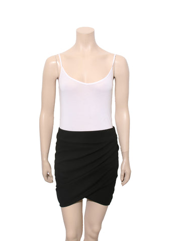 Helmut Lang Draped Skirt