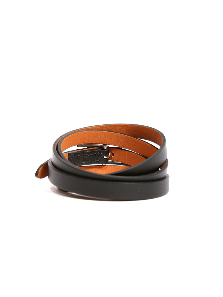Hermes Hapi Quad Tour Leather Wrap Bracelet