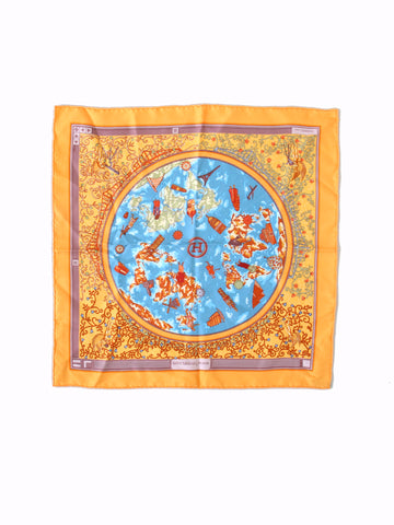 Hermes Silk Square Scarf