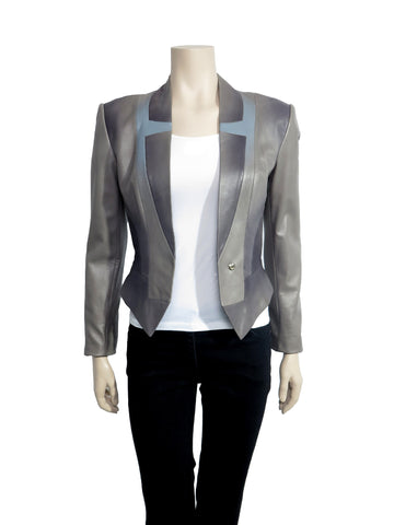 Herve Leger Leather Jacket