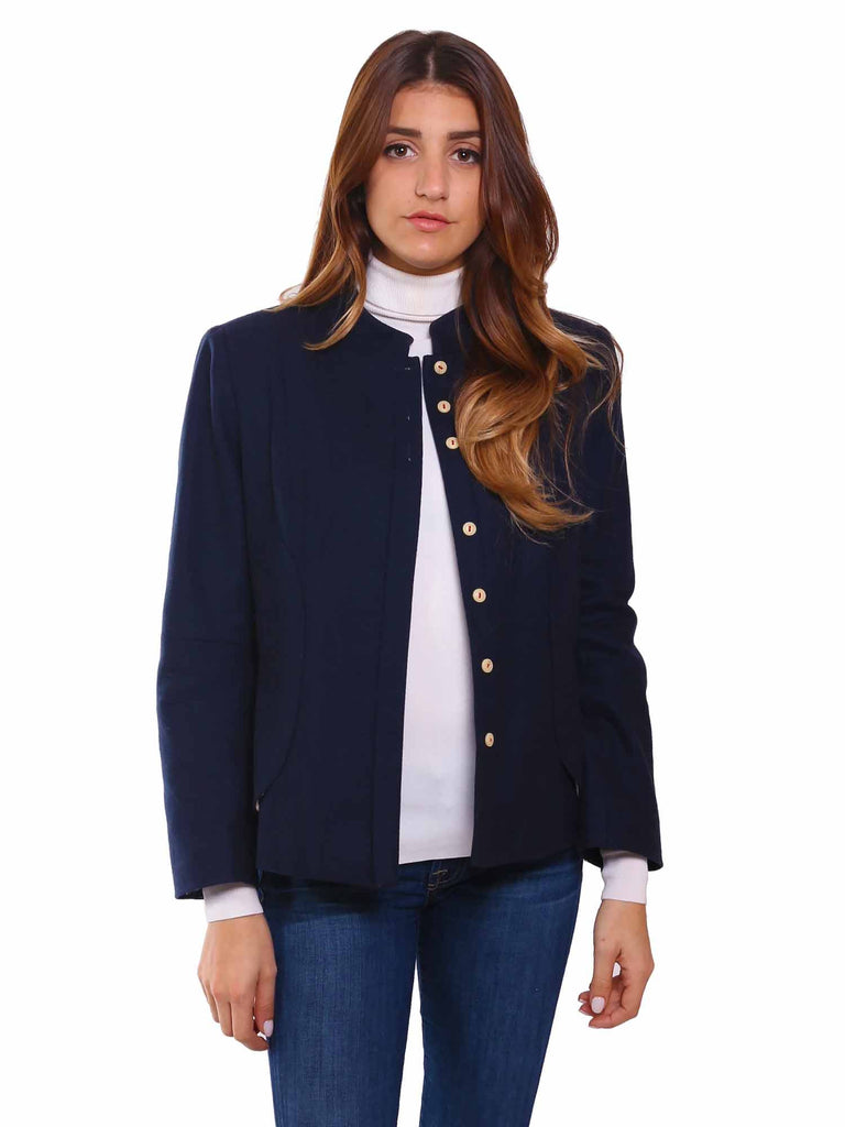 Hoss Introqia Wool Bow Blazer