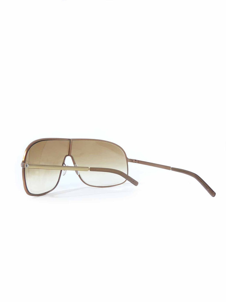 Gucci Vintage Shield Sunglasses