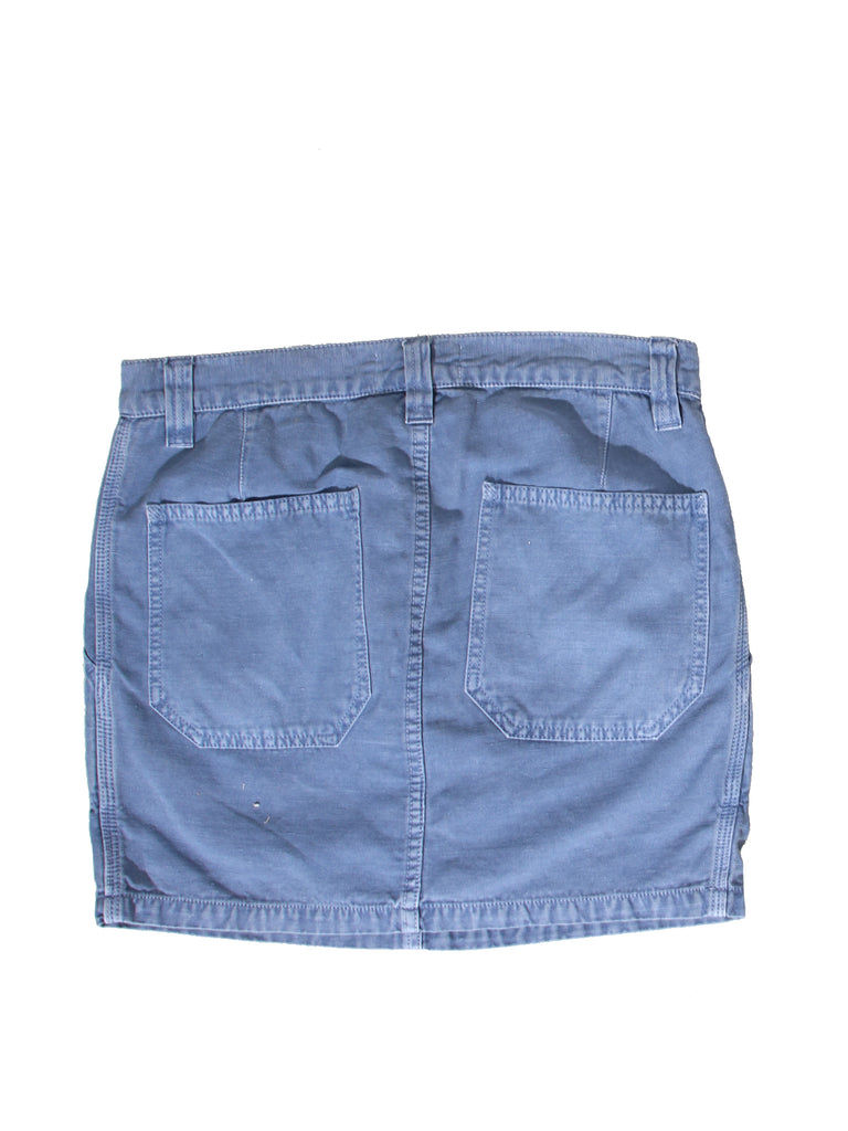 Isabel Marant Cotton and Linen Mini Skirt