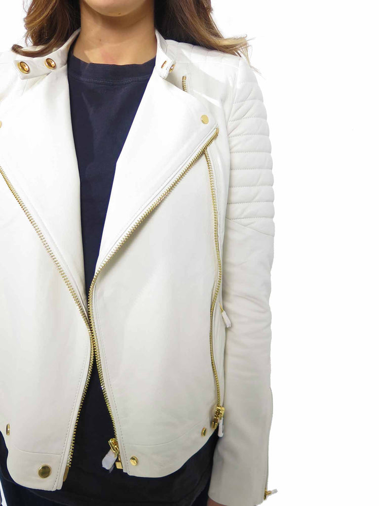 J Brand Crista Leather Jacket