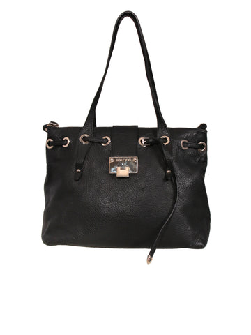Jimmy Choo Rhea Leather Tote Bag