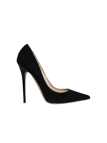 Anouk Suede Pointed-Toe Pumps