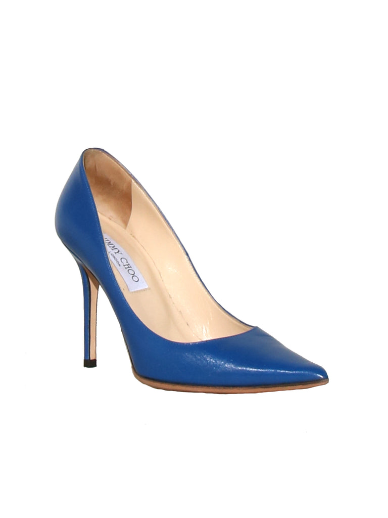 Jimmy Choo Pointed Leather Pumps