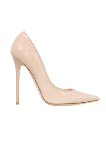 Jimmy Choo Anouk Patent Leather Pointed-Toe Pumps