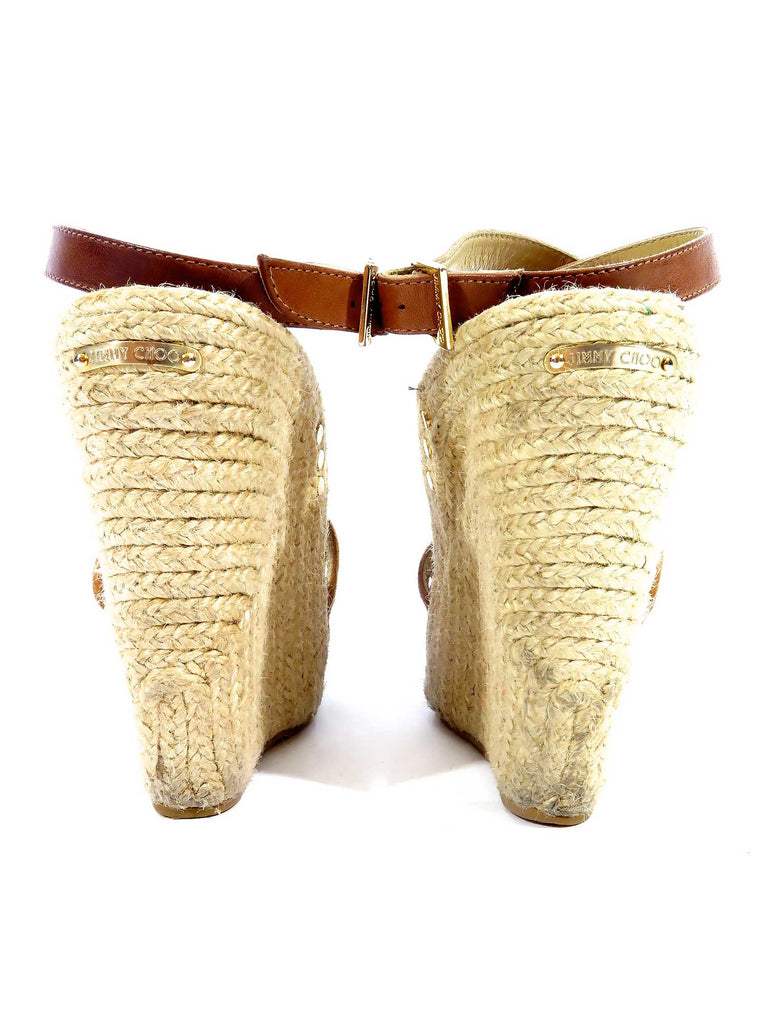 Jimmy Choo Suede Wedges