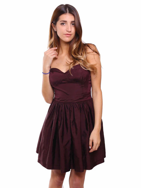 Joie Taffeta Bustier Dress