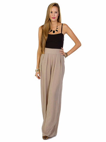 Solemio Wide Leg Jumpsuit