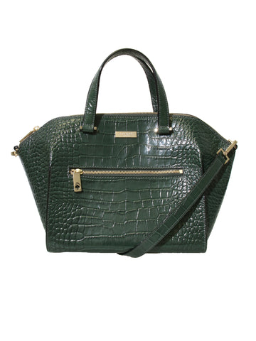 Kate Spade Embossed Leather Tote Bag