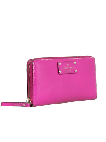 Kate Spade Leather Zip Around Wallet