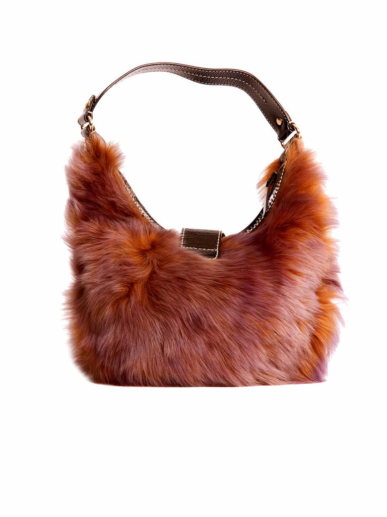 Kate Spade Fur Shoulder Bag