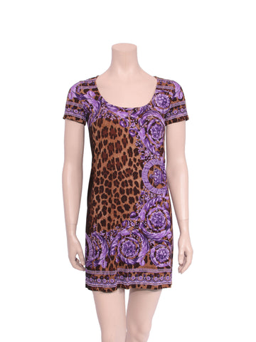 Versace Leopard Dress