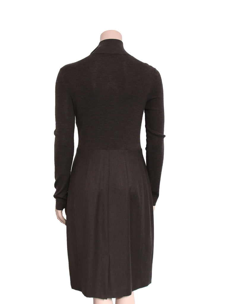 Akris Punto Wool Sweater Dress