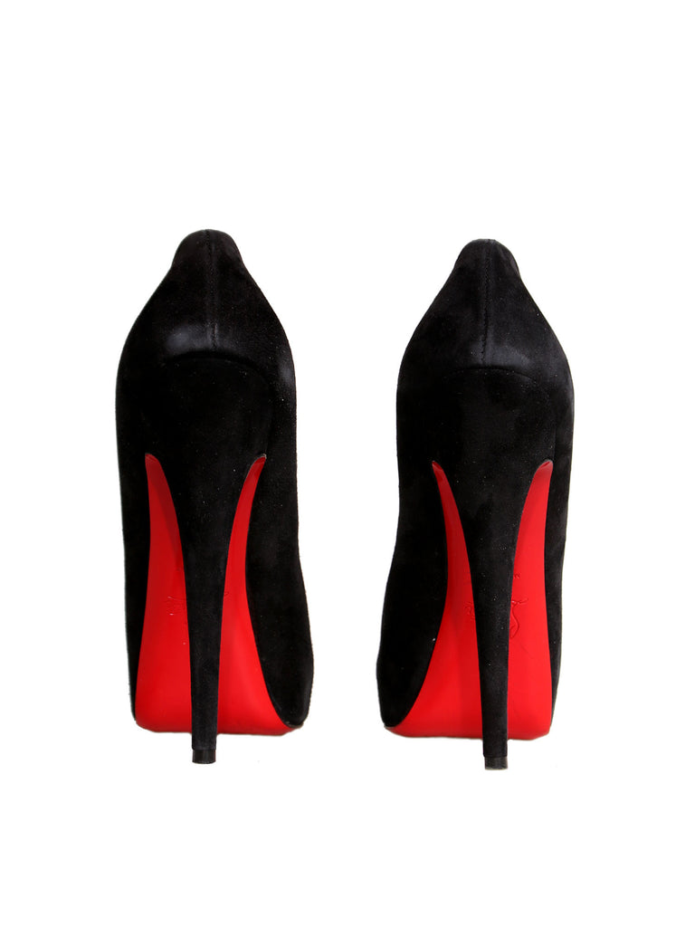 Christian Louboutin Miss Clichy 160 Suede Pumps