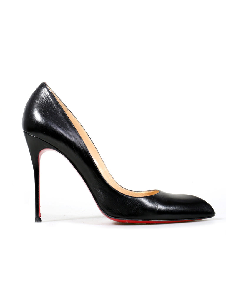 Christian Louboutin Pointed Leather Pumps