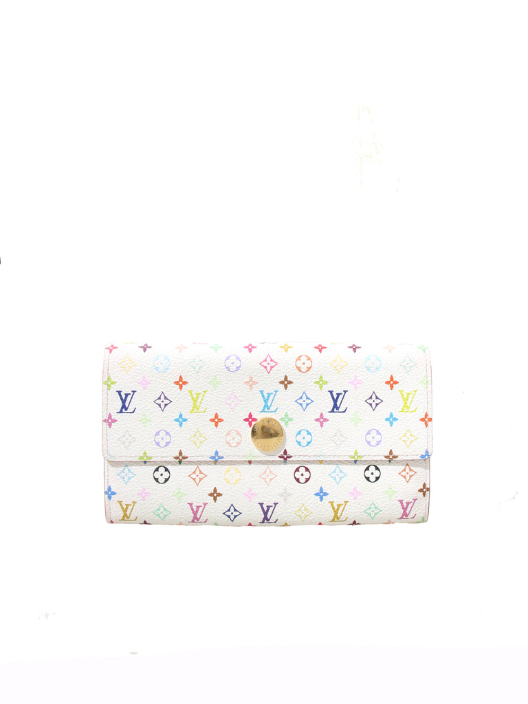Louis Vuitton Multicolor Monogram Sarah Wallet