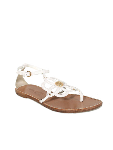 Louis Vuitton Flat Leather Sandals