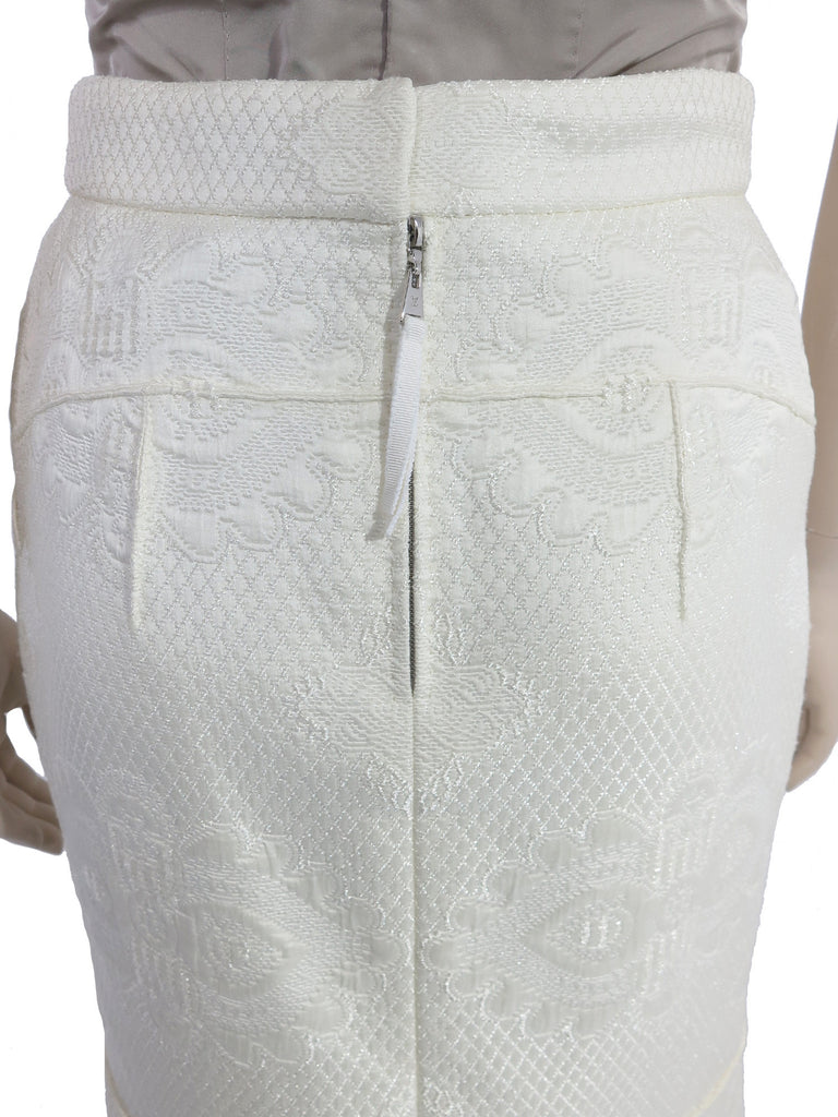 Louis Vuitton Embroidered Skirt