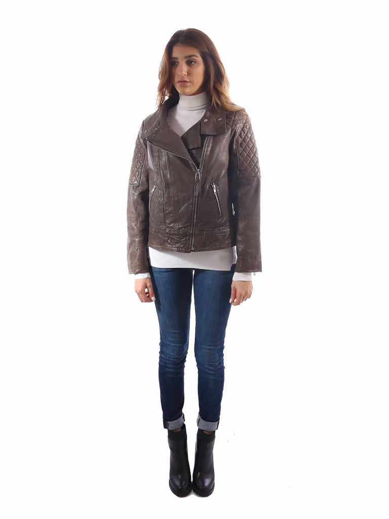 Mackage Quilted Leather Jacket