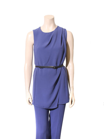 MaxMara Sleeveless Draped Top