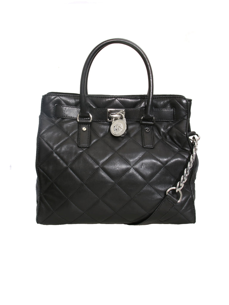 Michael Kors Quilted Hamilton Tote Bag