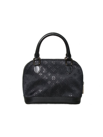 Louis Vuitton Monogram Satin Nano Alma Bag