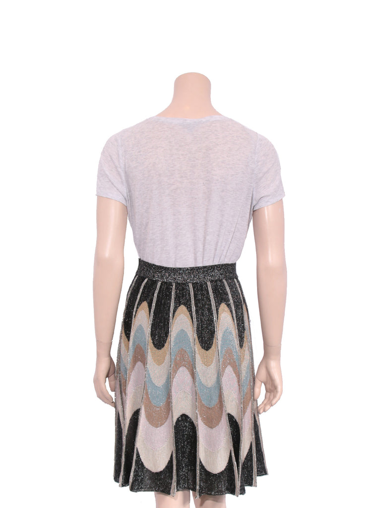 M Missoni Shimmer Knit Midi Skirt