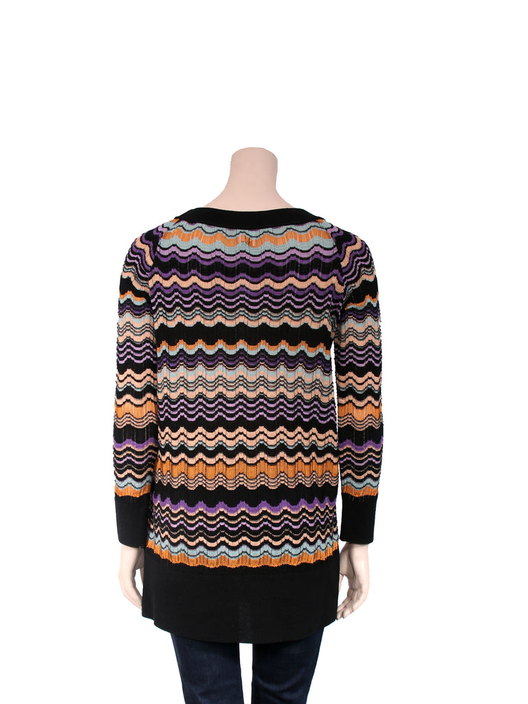 M Missoni Printed Knit Sweater