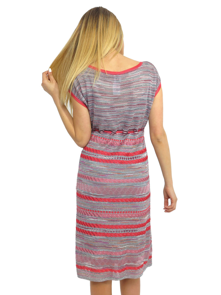 M Missoni Printed Shimmer Knit Dress