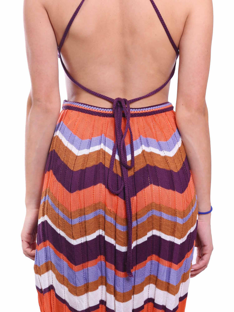 M Missoni Knit Cut-Out Dress