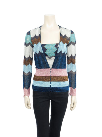 Missoni Shimmer Knit Cardigan