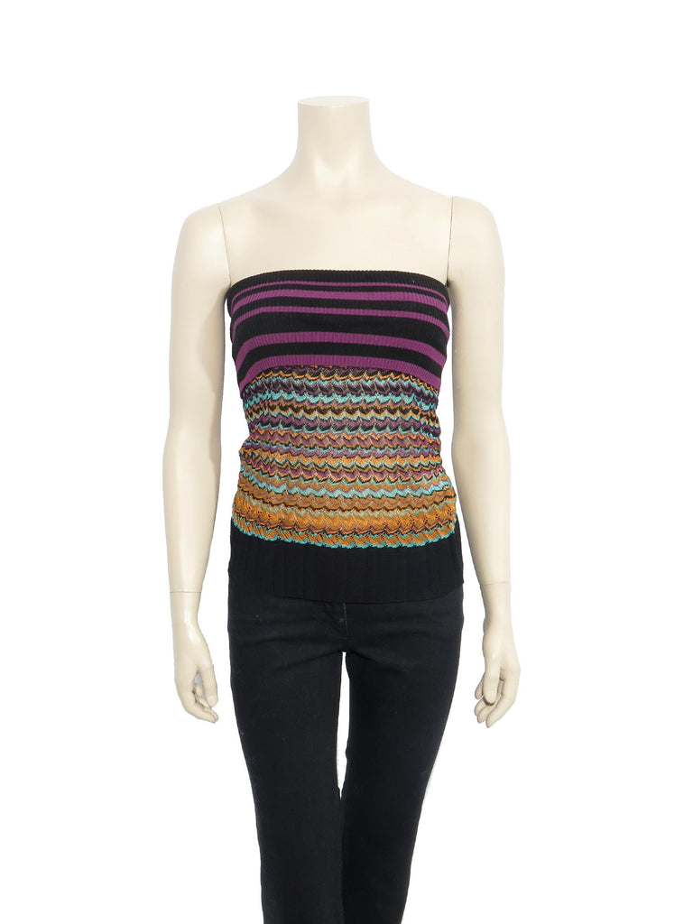Missoni Printed Knit Top