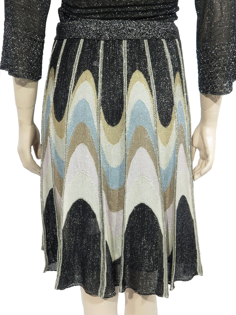 Missoni Shimmer Knit Midi Skirt