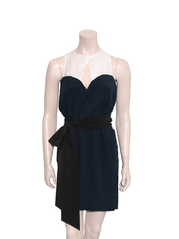 Miu Miu Sleeveless Belted Dress
