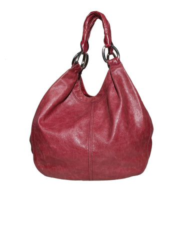Miu Miu Leather Hobo Shoulder Bag