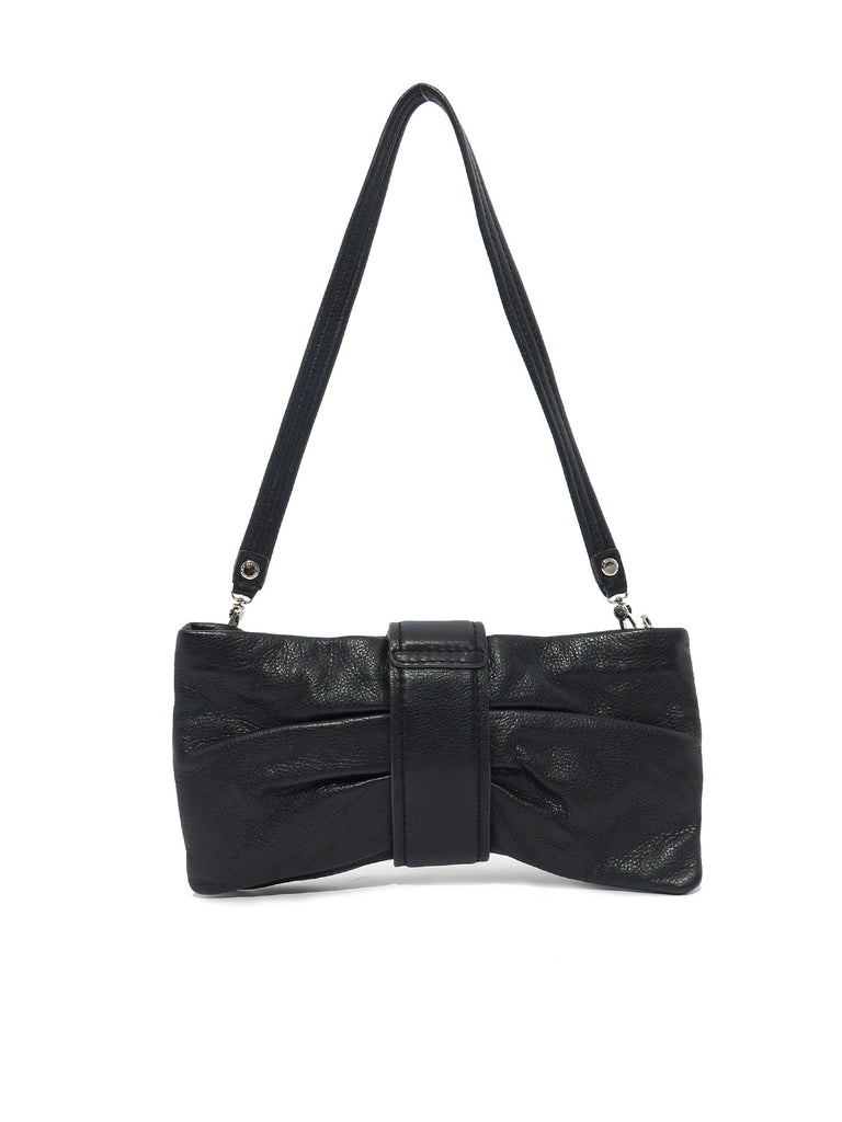 Marc by Marc Jacobs Leather Bow Clutch Bag
